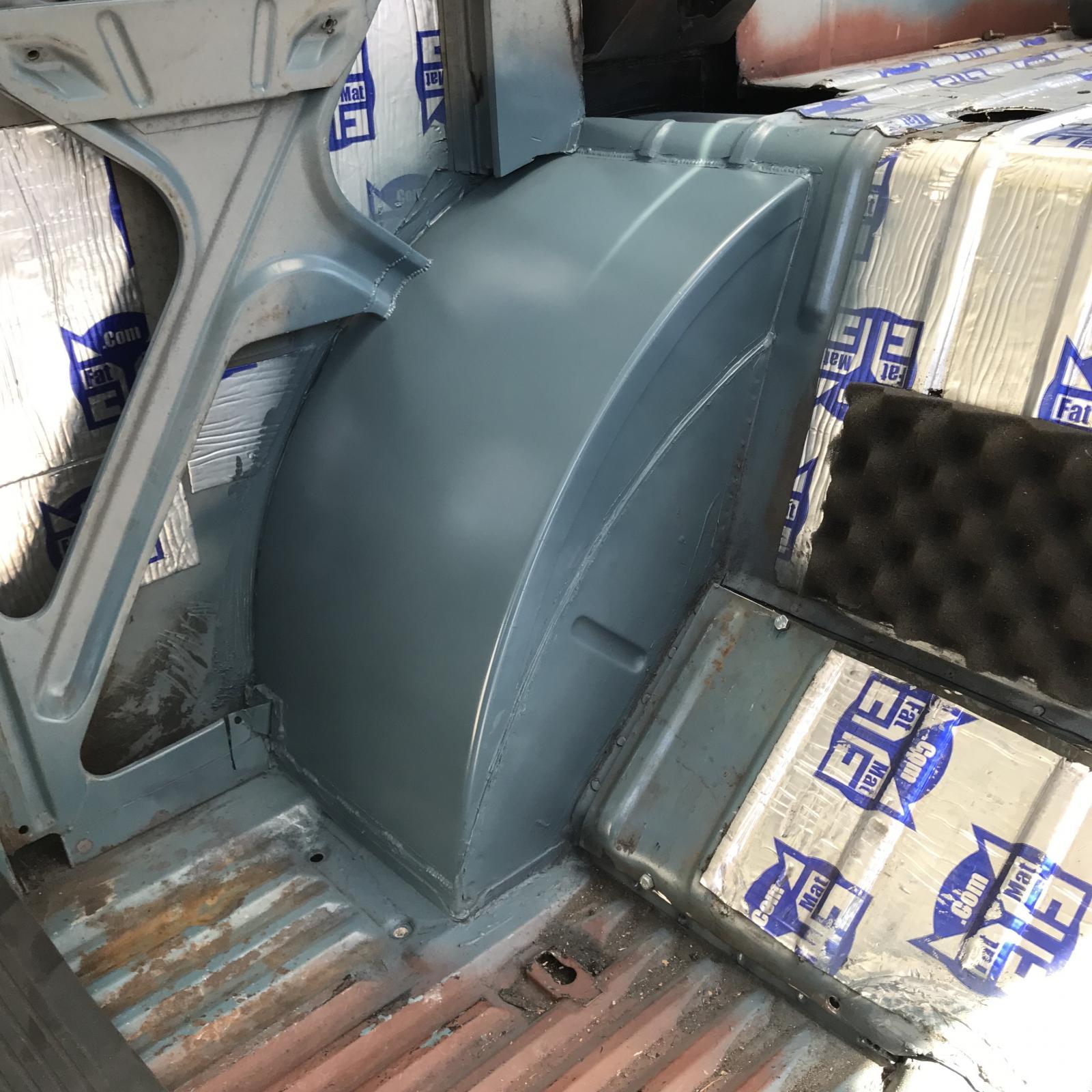 rear wheel tubs