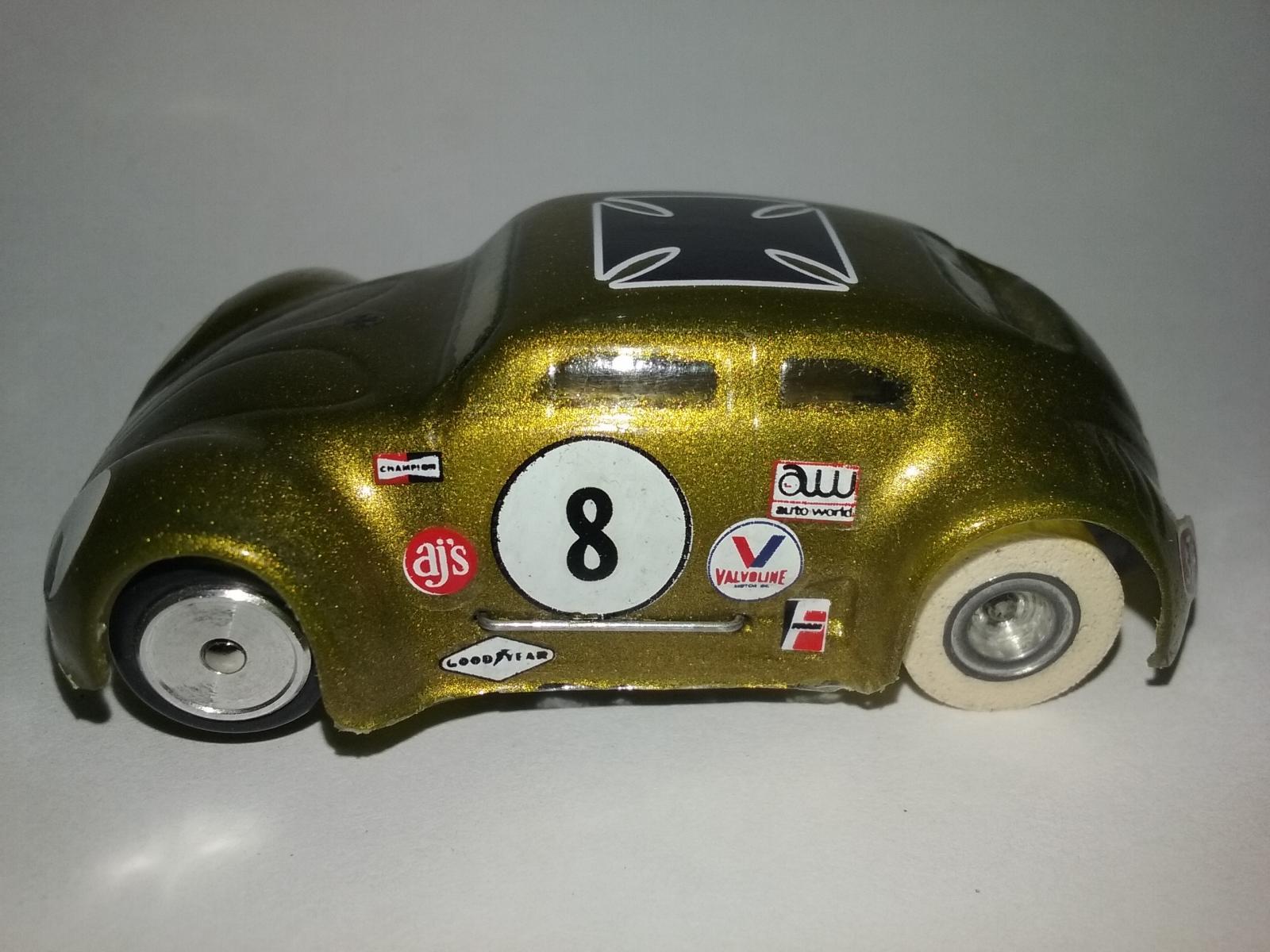 Aurora Model Motoring Custom VW Bug Slot Car