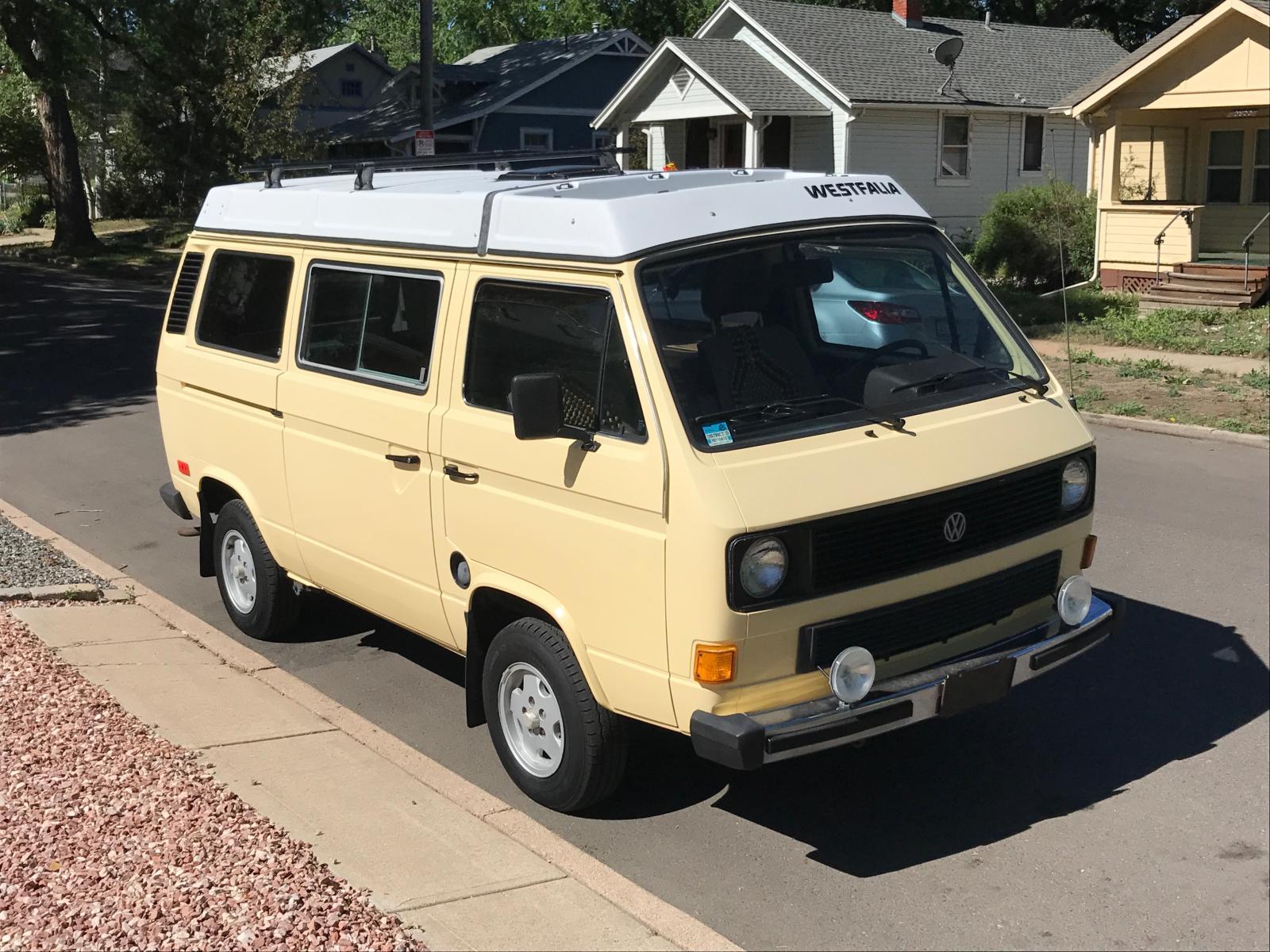 1984 VW Vanagon Westfalia - Denver CO
