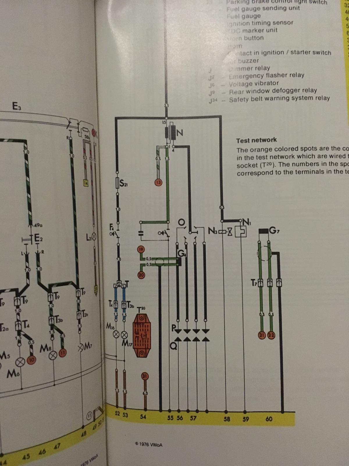 super beetle wiring 2