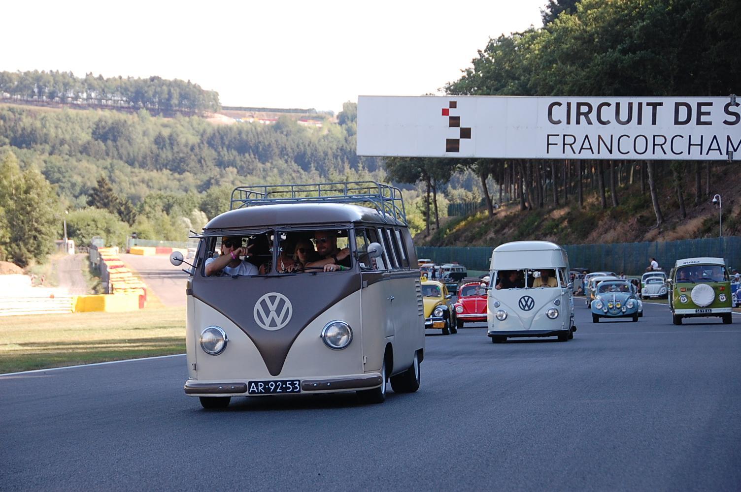 Big Parade at Spa Francorchamps