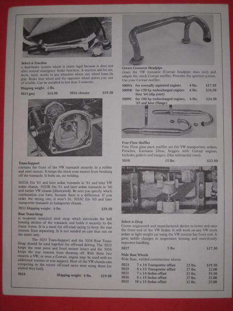 Crown Manufacturing Company, Inc. Brochure