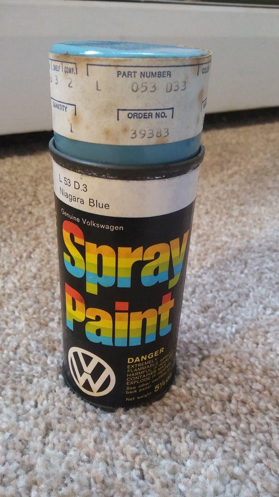 TheSamba com :: Gallery - VW Spray Paint Can Niagara Blue L5D3