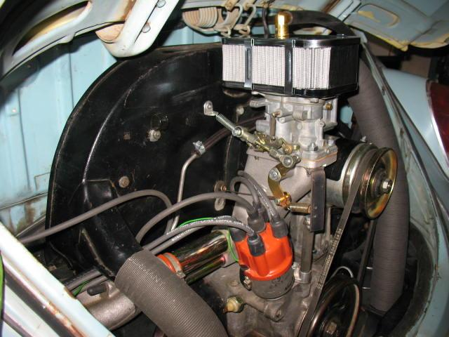 Weber 32/36 DFEV on 1600cc