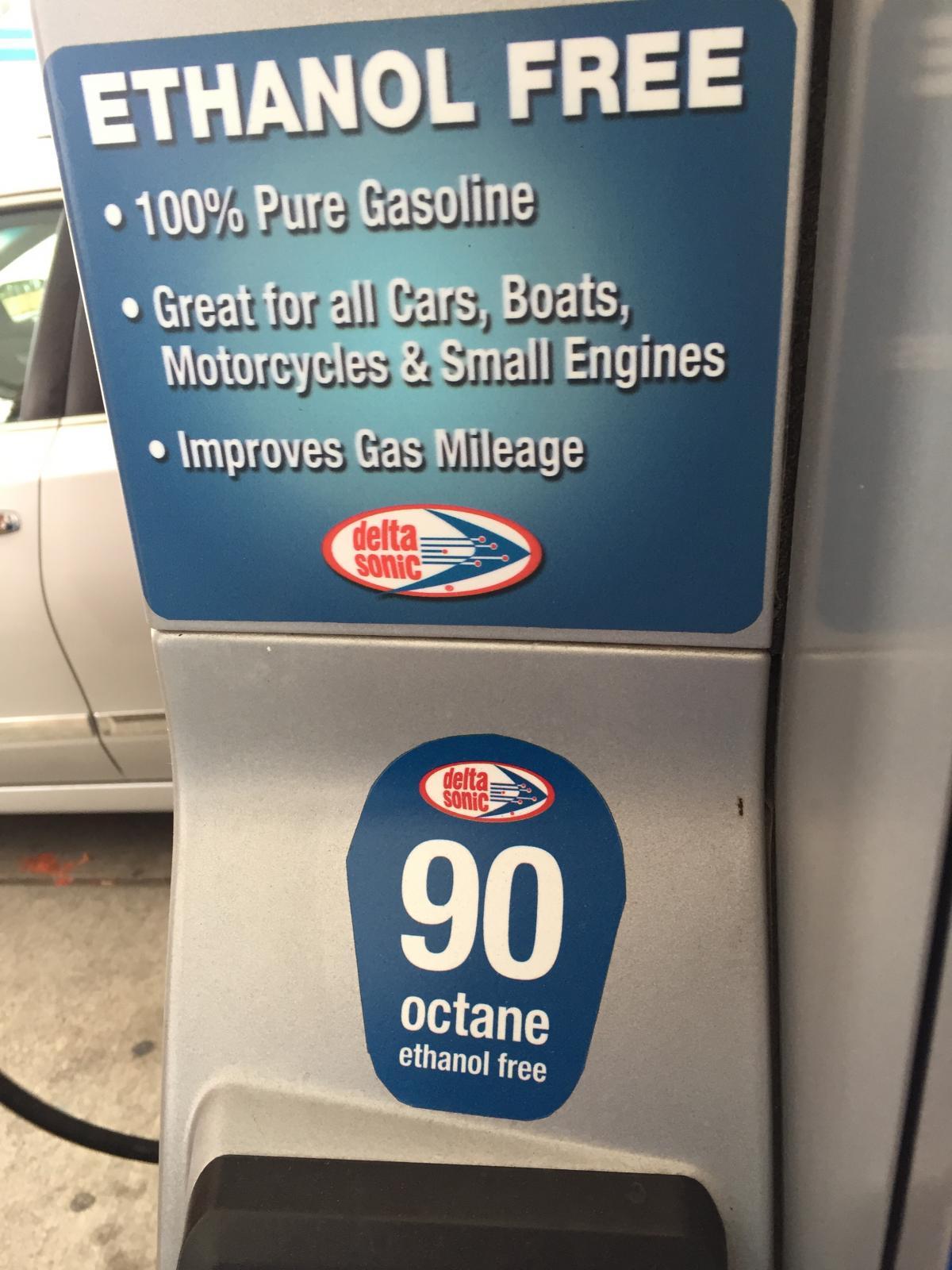non ethanol fuel