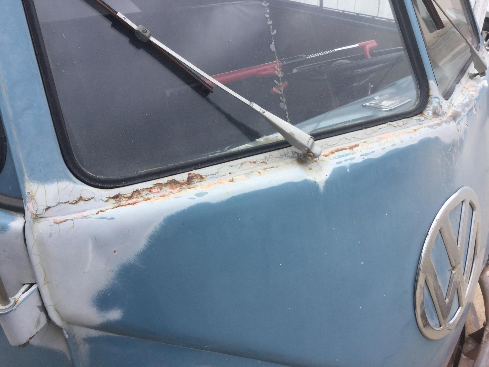 1959 Dbl Cab project- front cowl