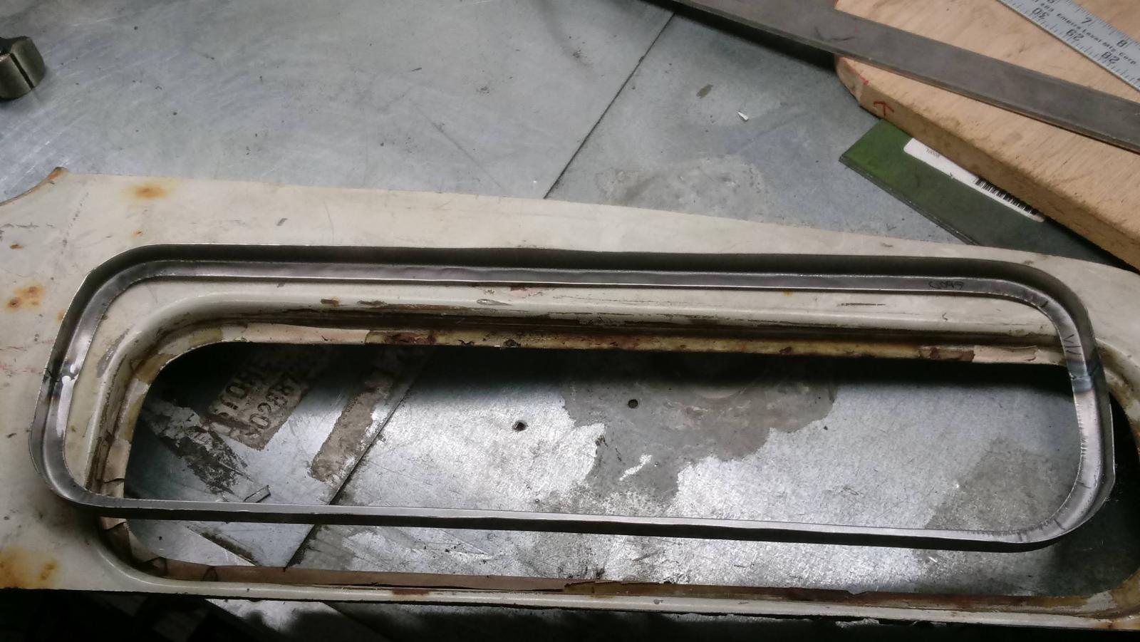 making skylight sections