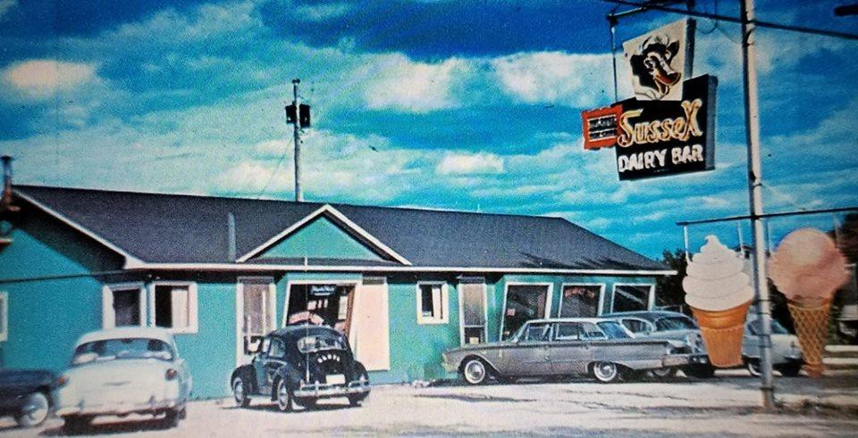 Sussex N.B. Dairy bar 1960's