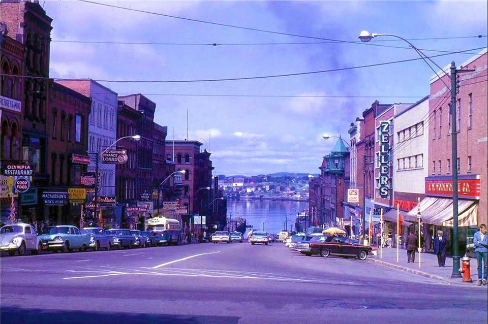 Water Street,Chatham, N.B. 1968