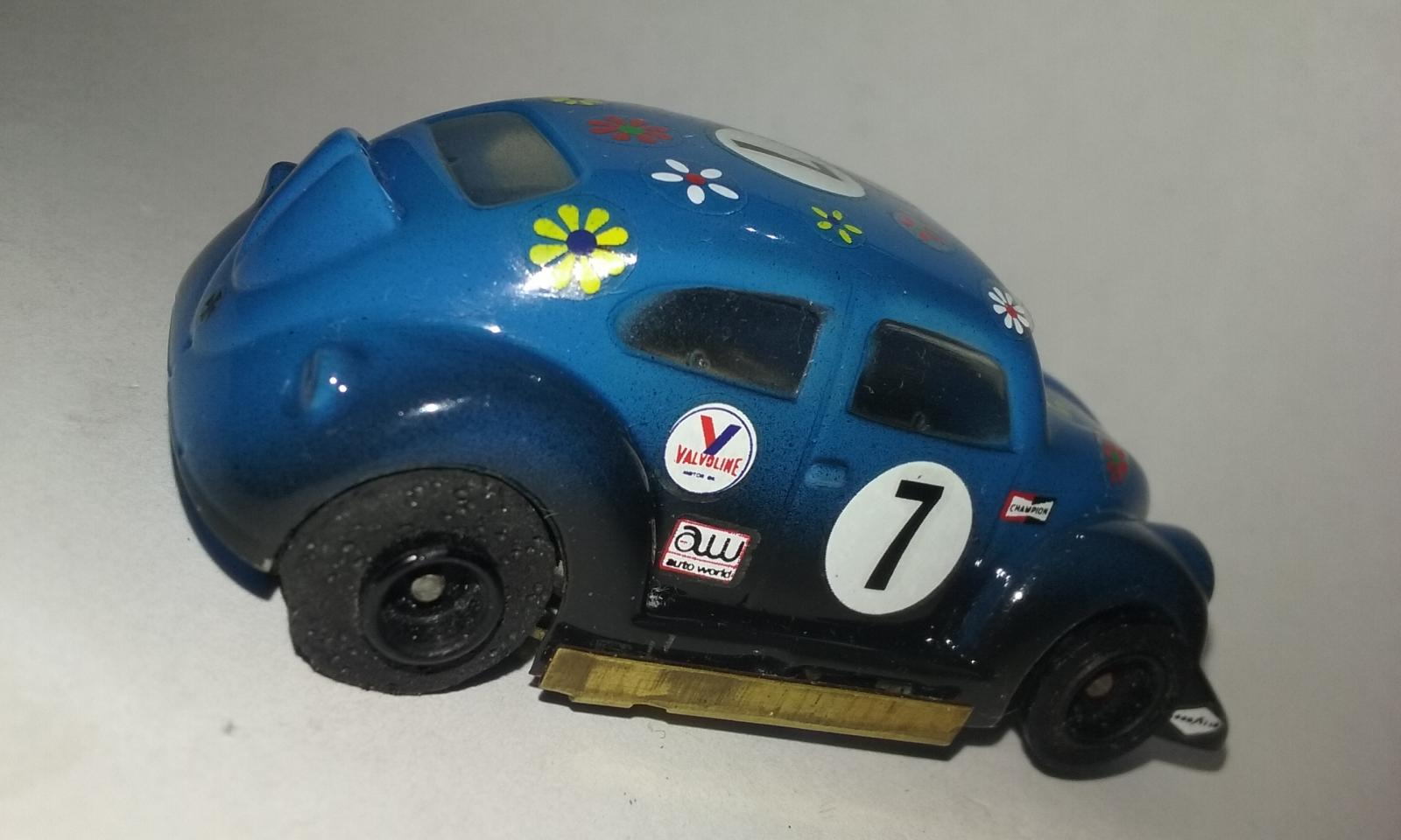 Dynamic Dyna Brute VW Bug Ho Scale Slot Car