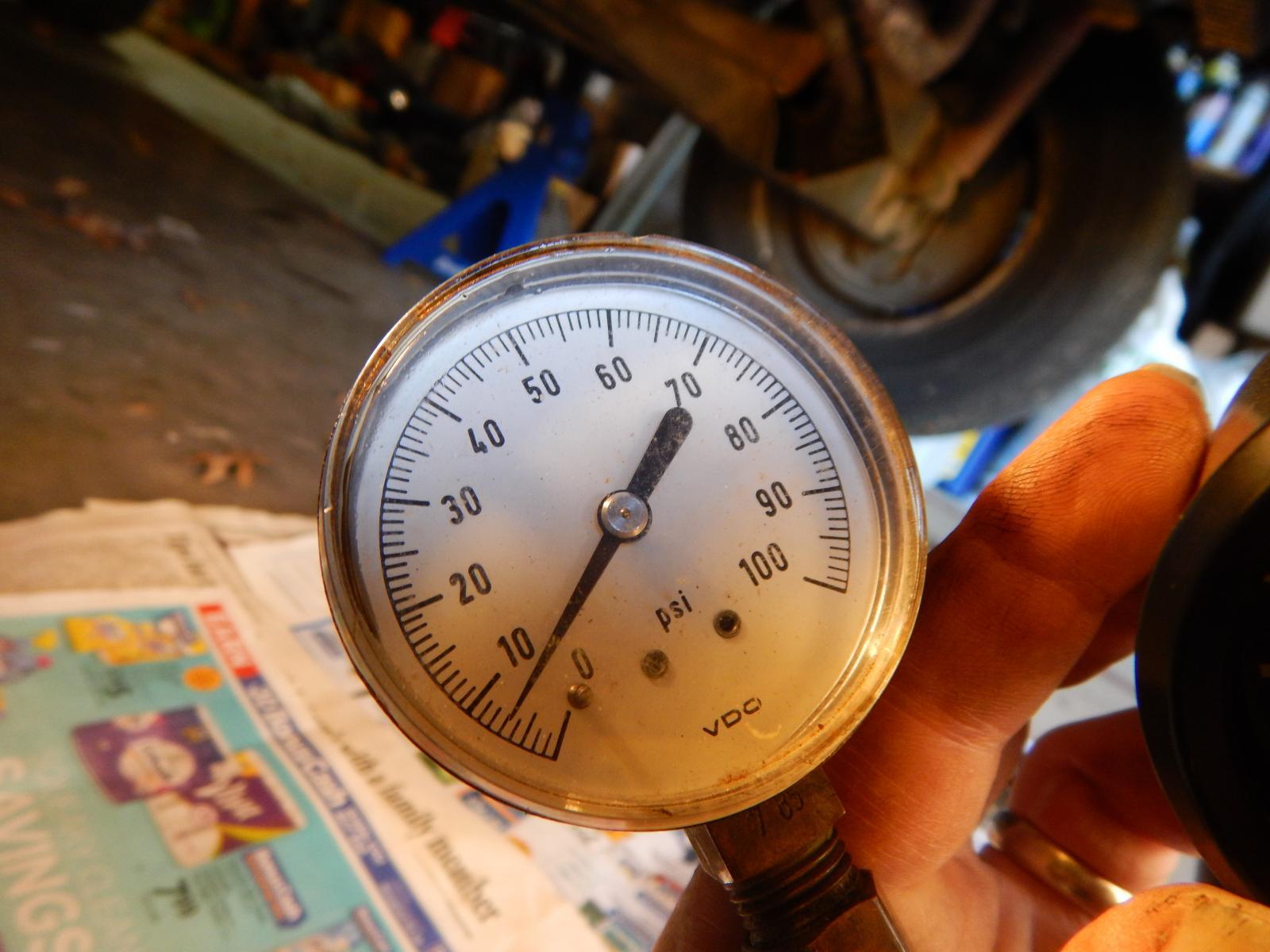 Oil pressure '89 2.1