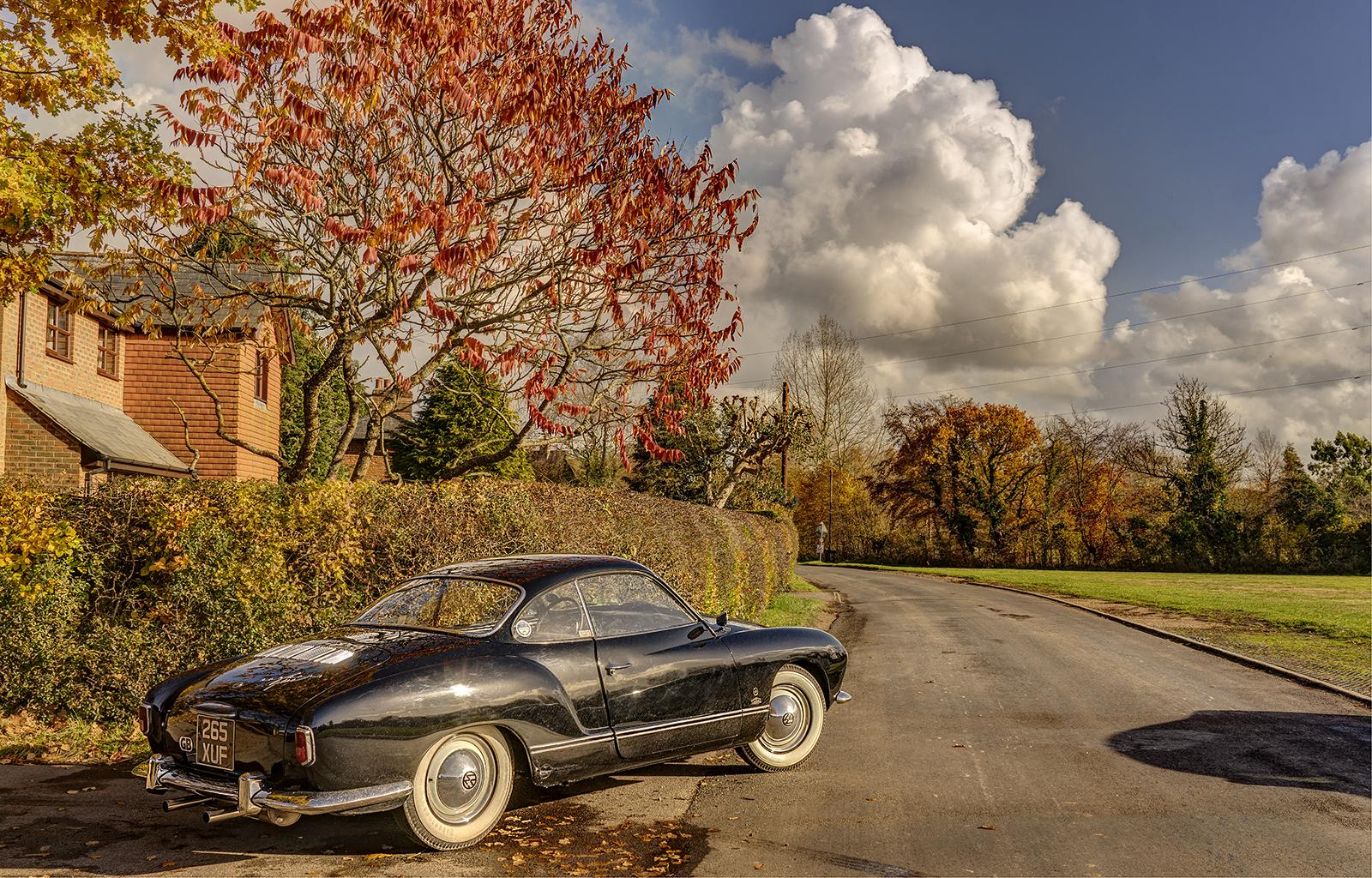 My 58 Karmann Ghia in Autumn Colours