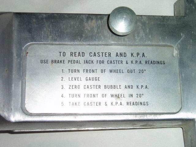 Snap-on link-pin gauge (back)