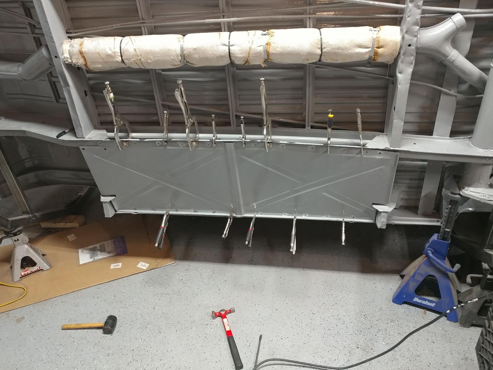 Installing belly pans