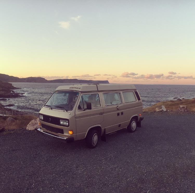 Sunset at Cape Spear