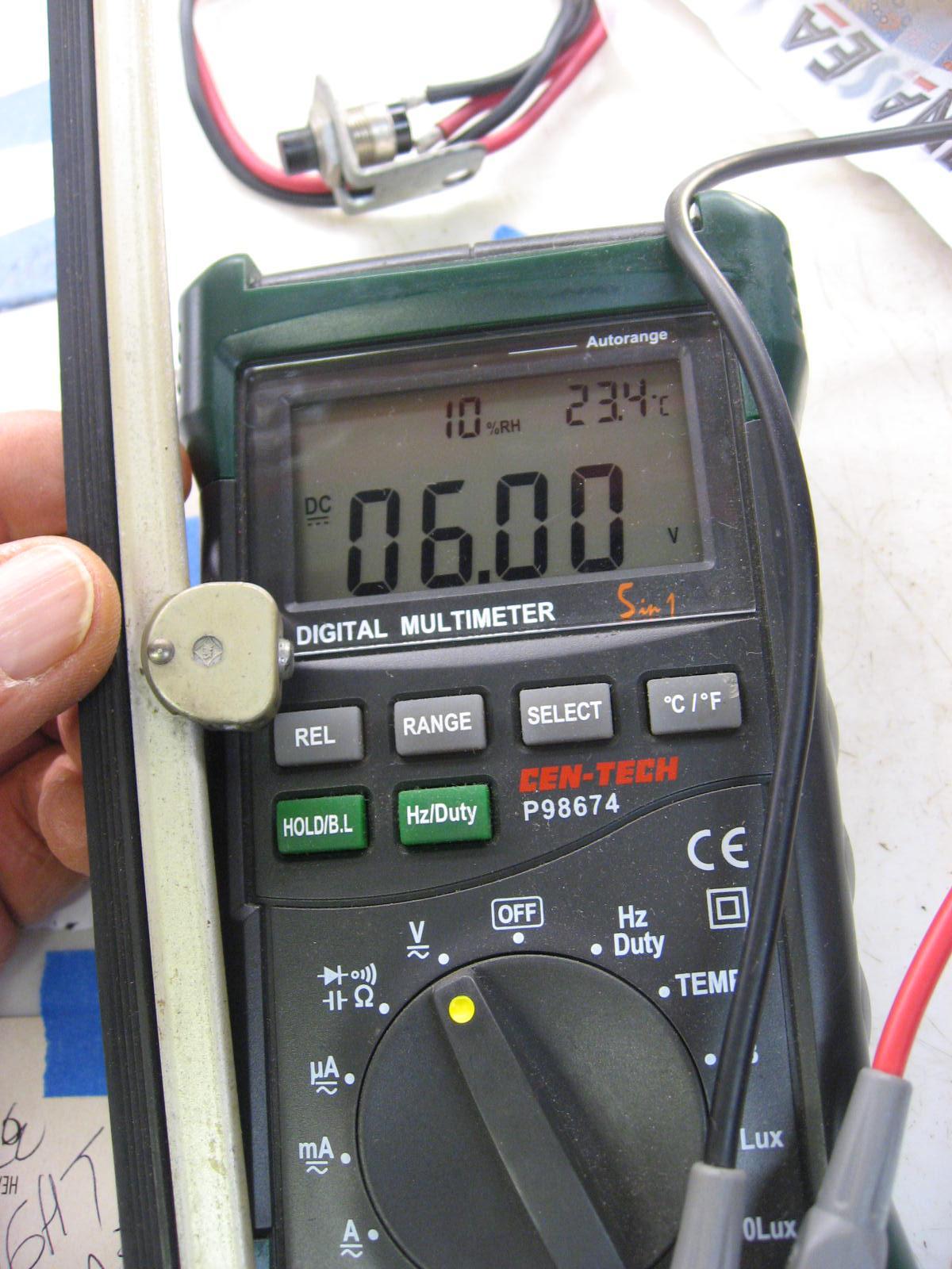 12 volt to 6 volt convertor