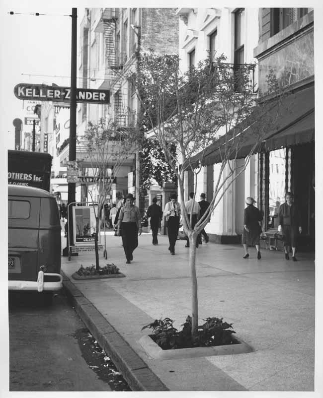 Canal St, New Orleans,  1961