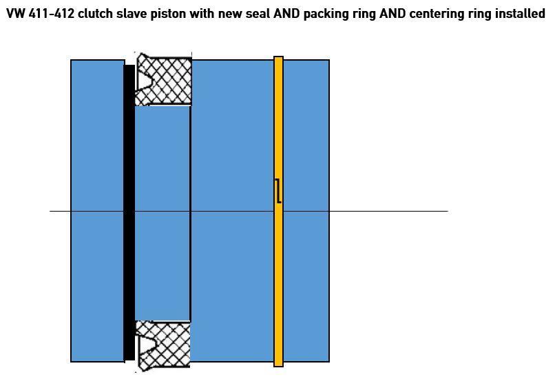 411-412 44.5mm clutch slave rebuild parts