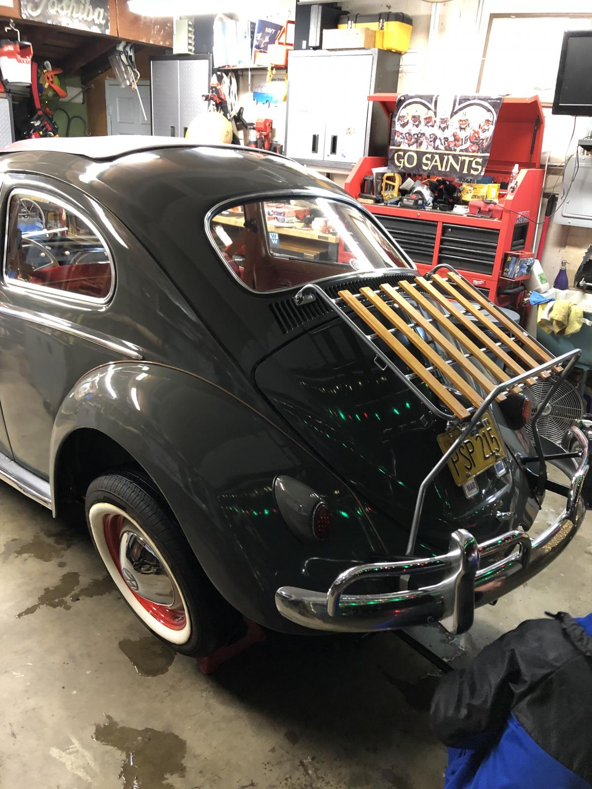 1960 Heater and nose mount