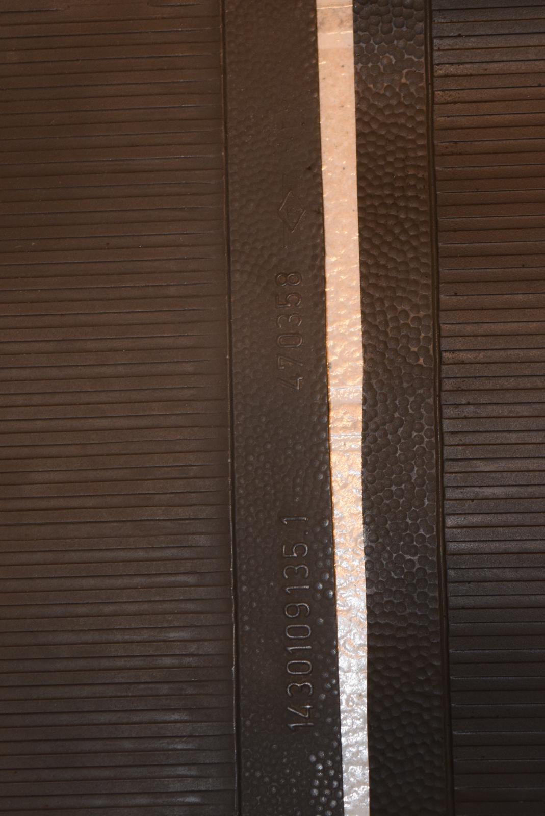 Repro tapis de sol en caoutchouc Post 59 ** HAUTE QUALITE ** 1851258