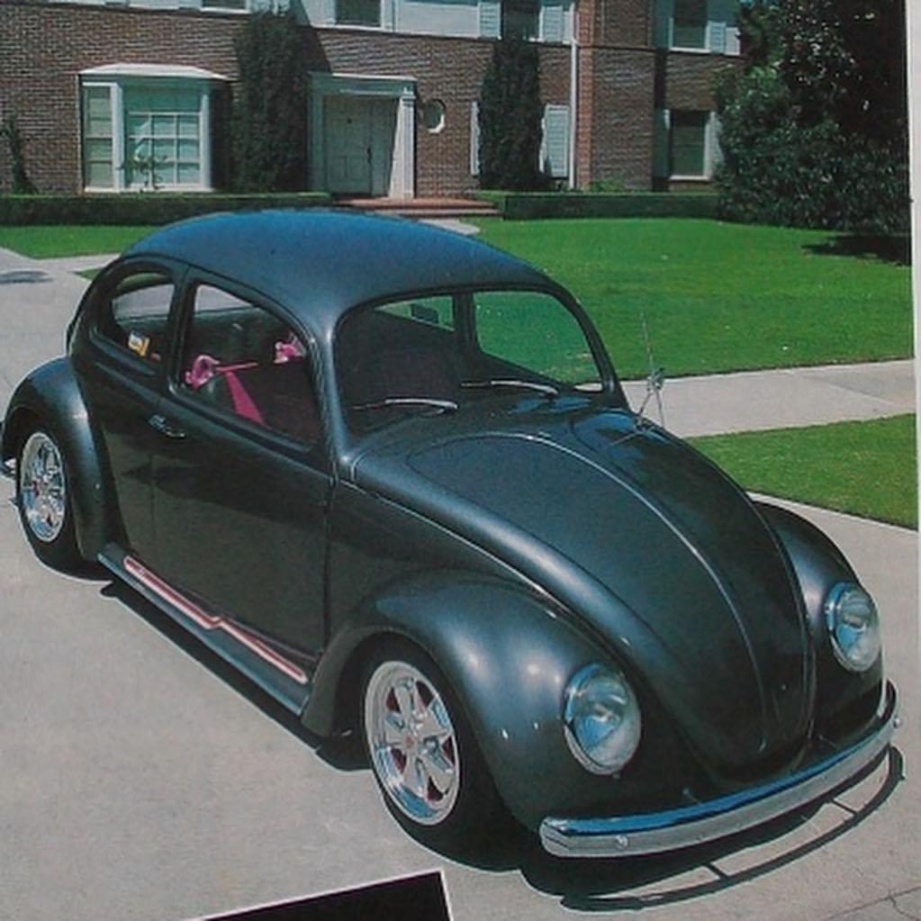 Eddie's Looker photo, Van Halen's bug