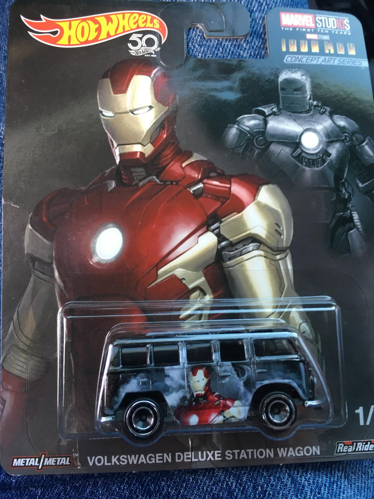 Iron man hot wheel