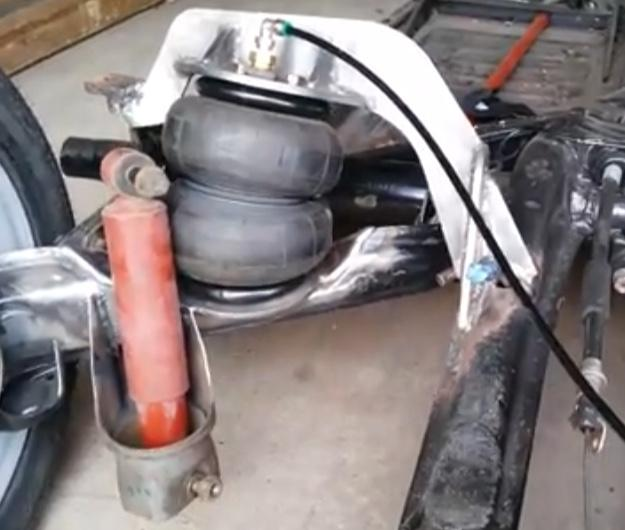 Airbag installation hackery