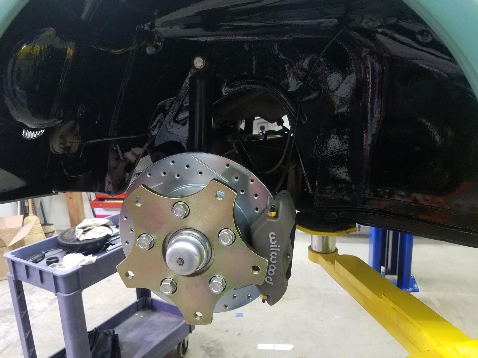 Wilwood disc brake kit