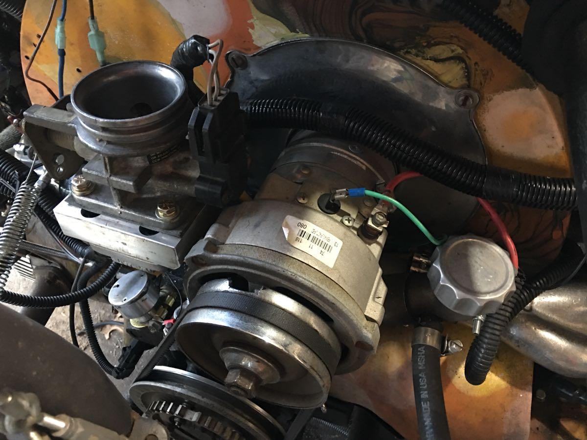 Sequential EFI swap speeduino Volkswagen