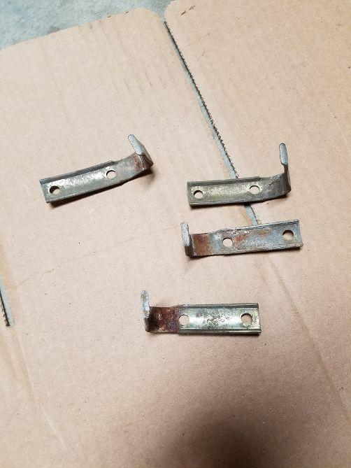74-79 bumper impact strips mounting clips