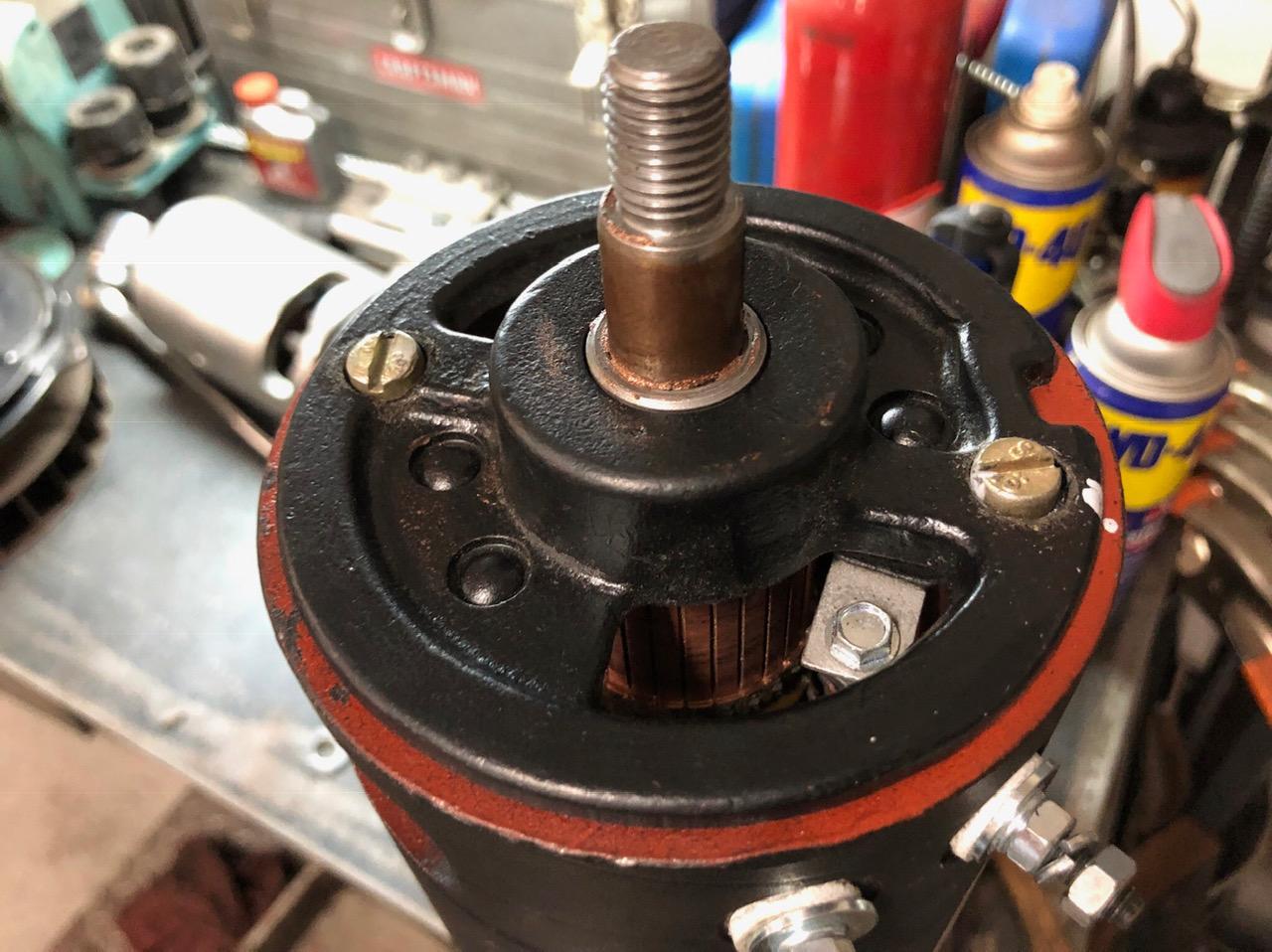 38A rebuilt generator pics
