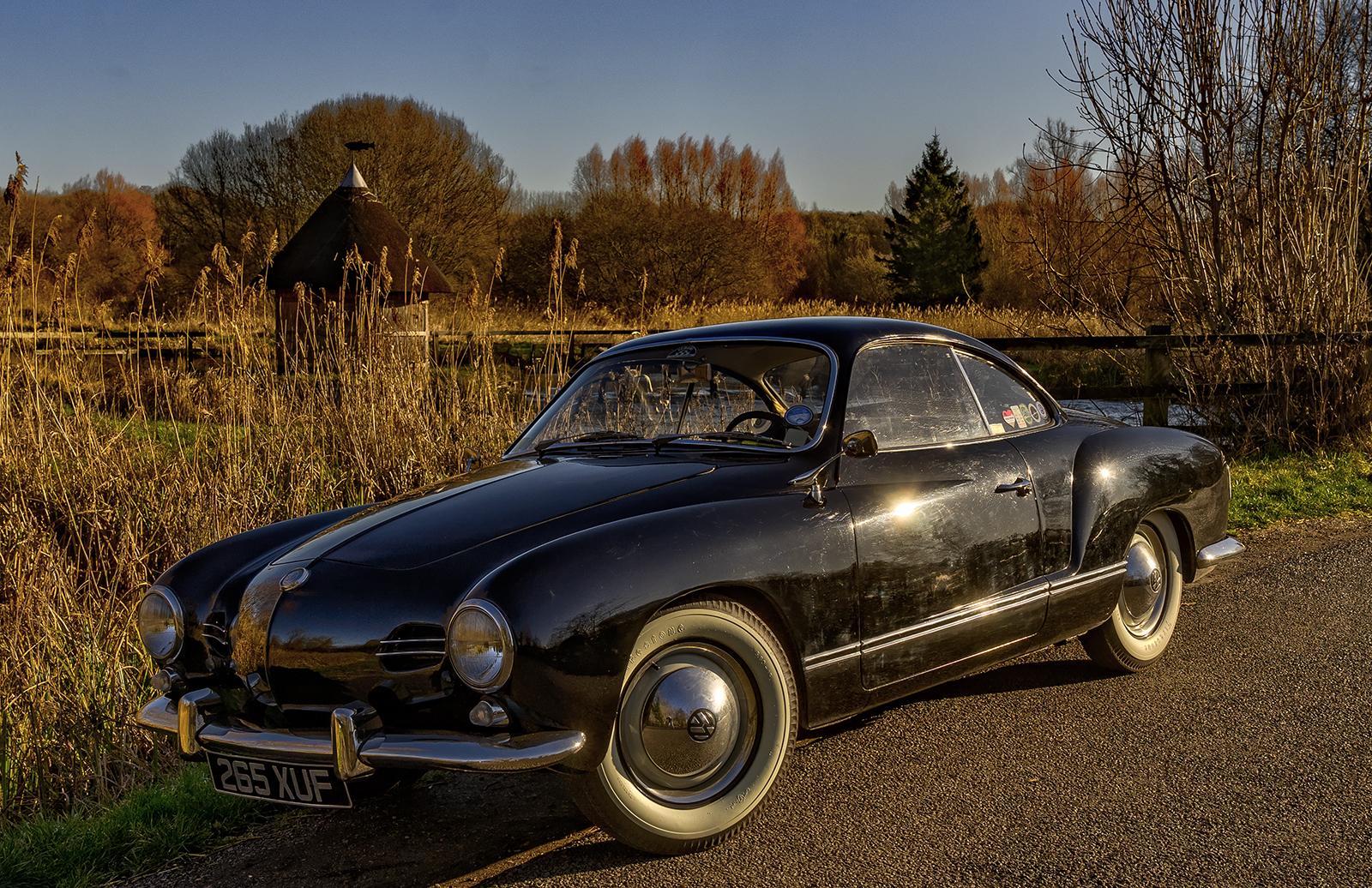 My '58 Lowlight at Longstock, Hampshire