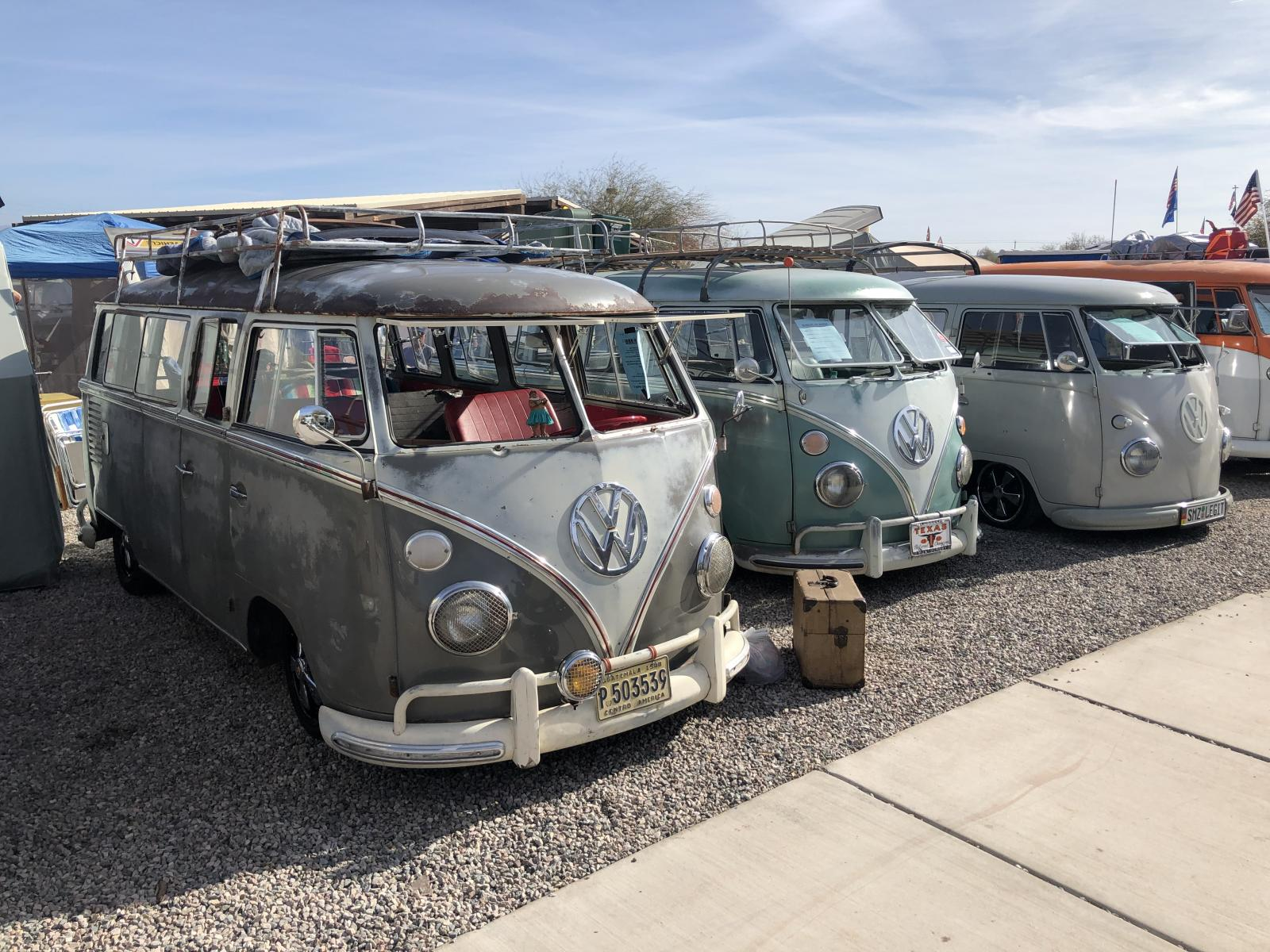 Buses By The Bridge 2019