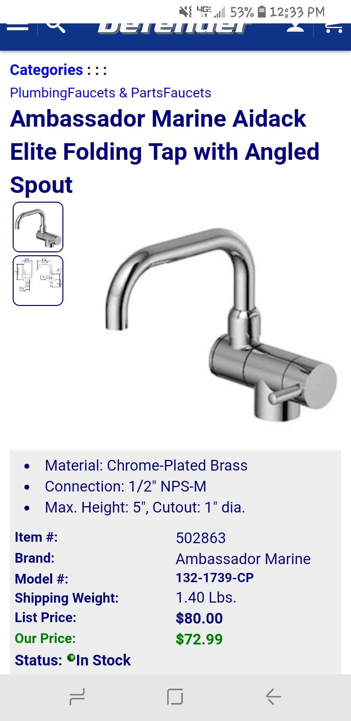 Different faucet ideas for my 79