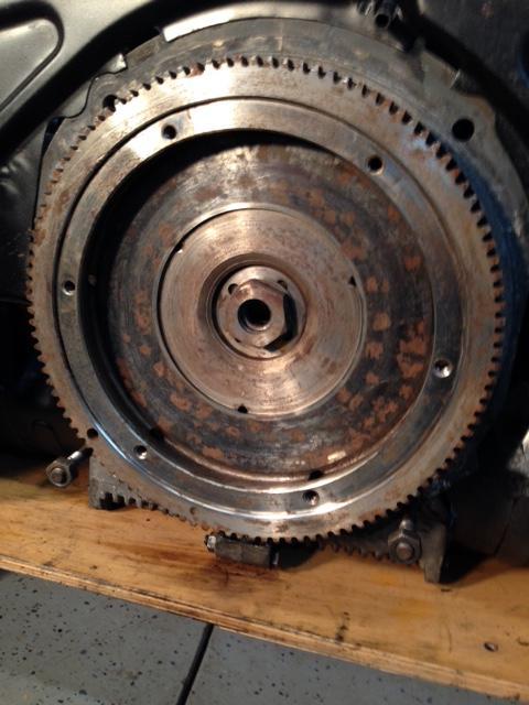 63 camper clutch and flywheel