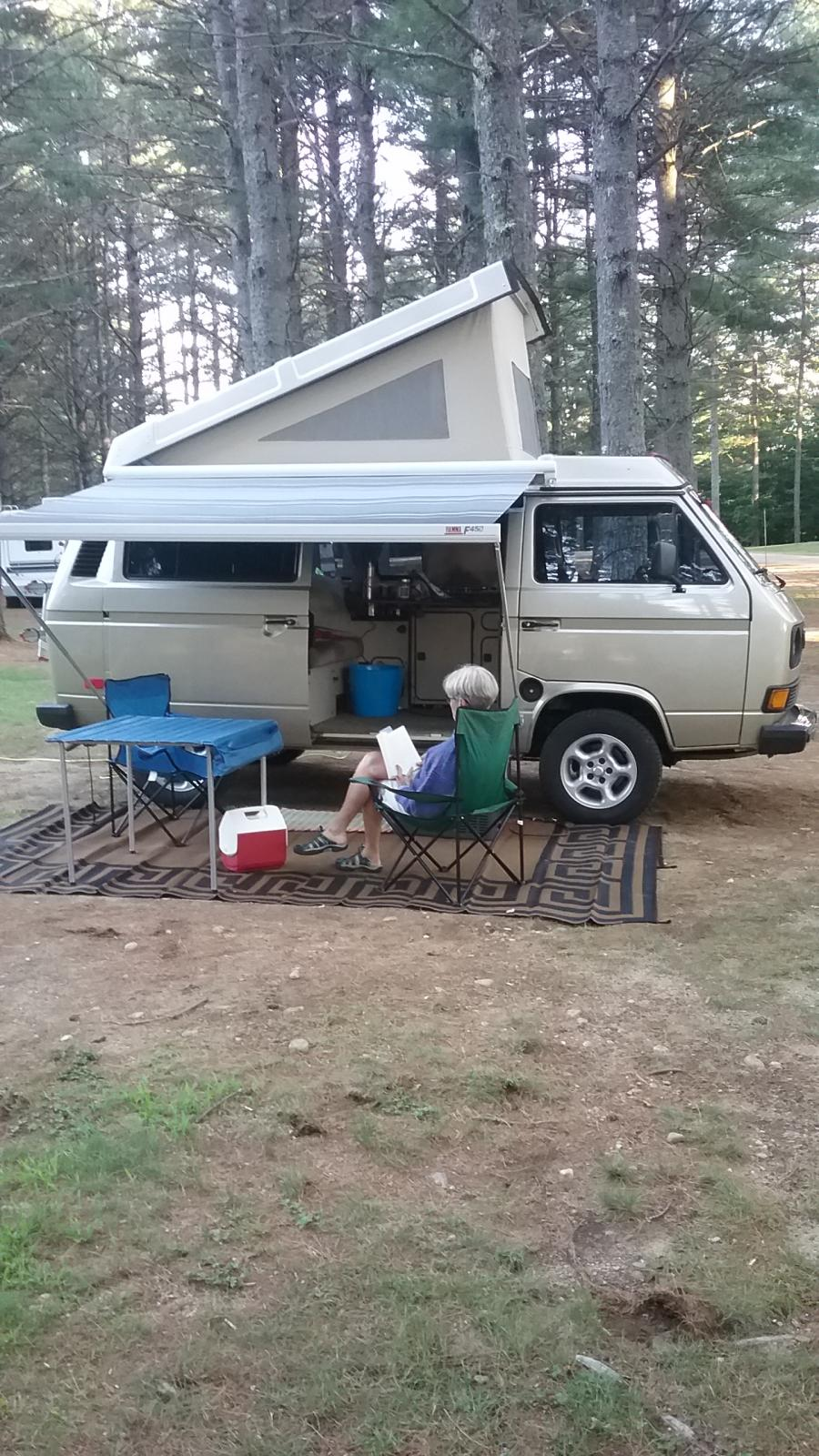 Camping with Our Westy