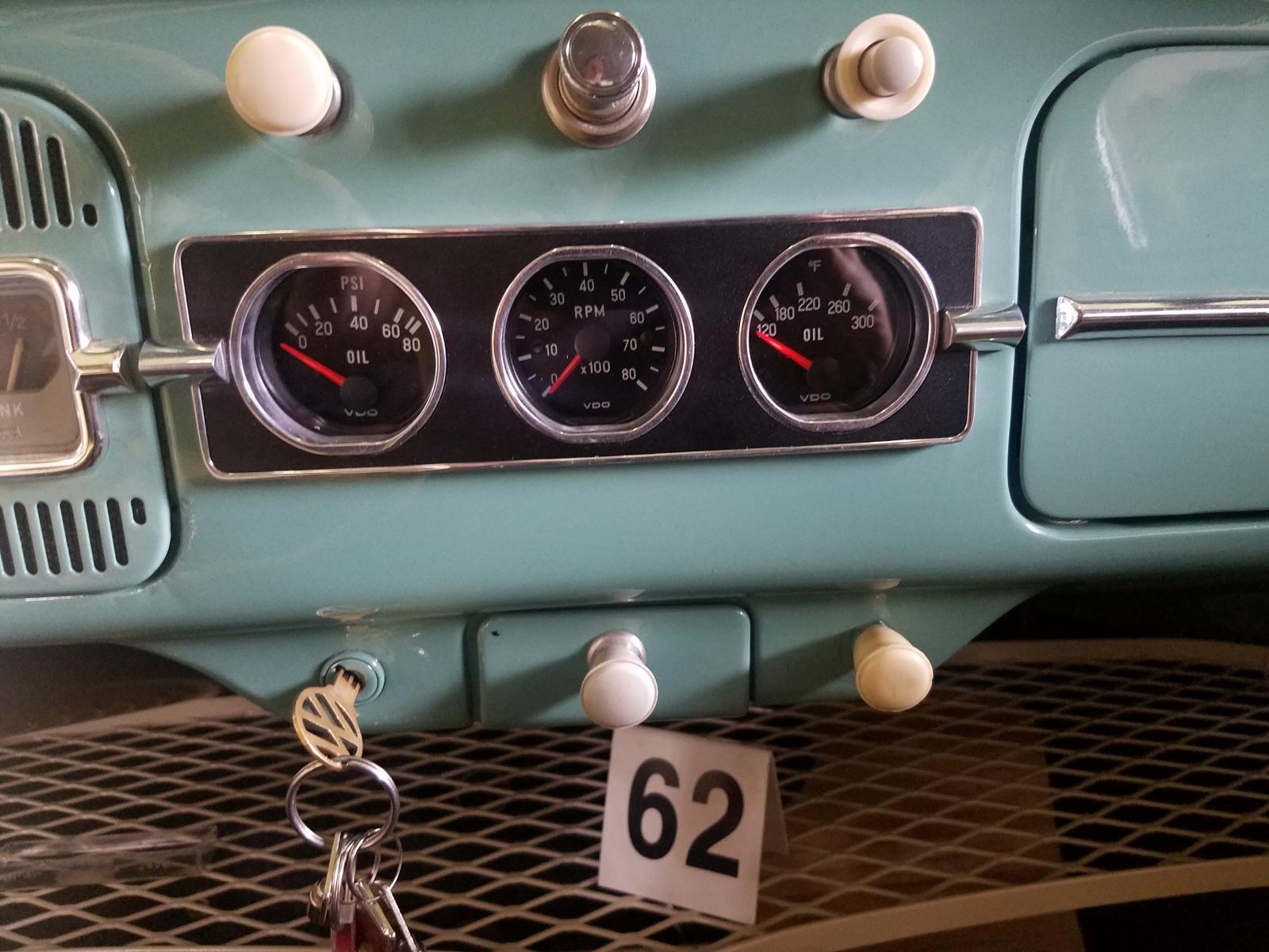 VW dash