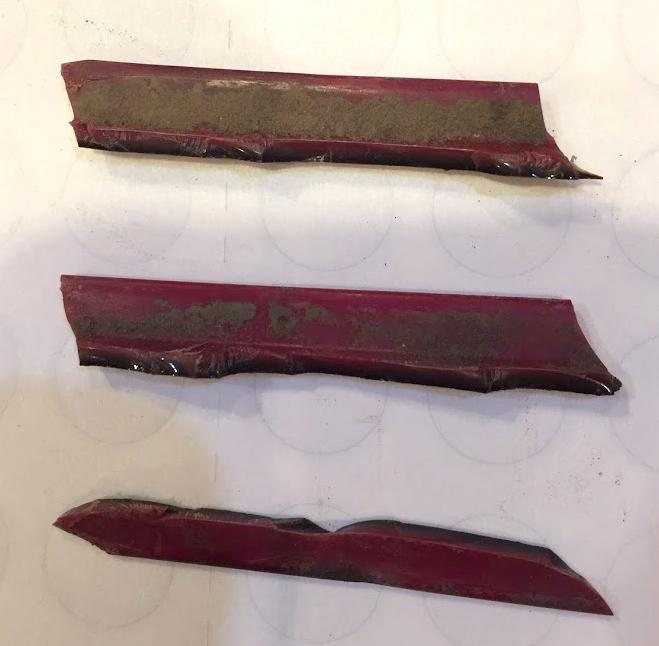 Sealing Wax Red trim/infill/molding