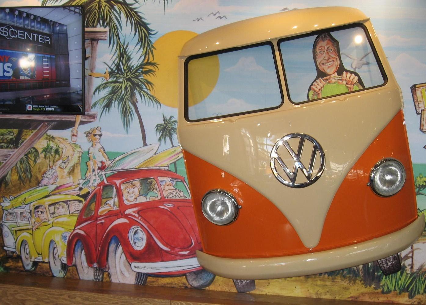 VW bus art