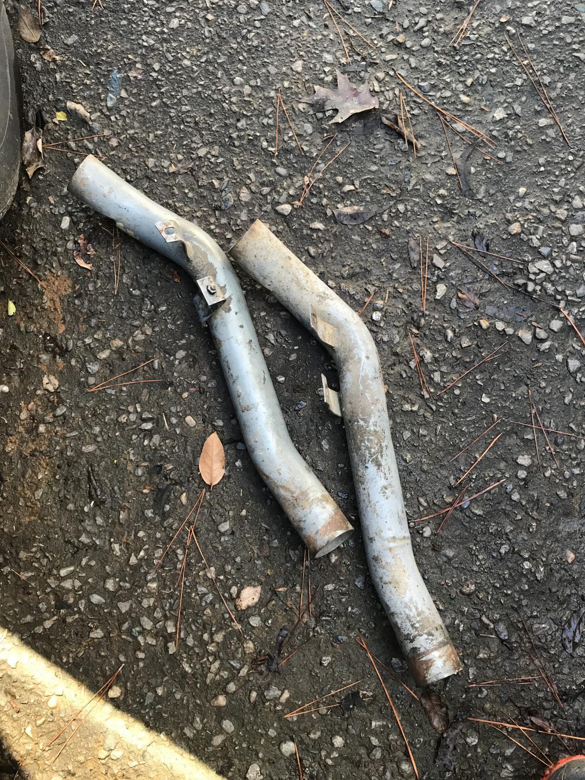 Heat dump tubes