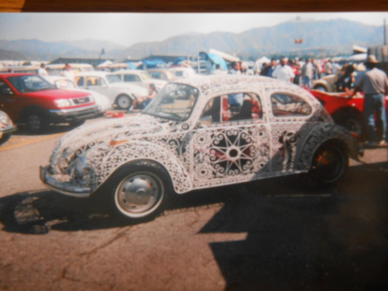 Wrought Iron Beetle