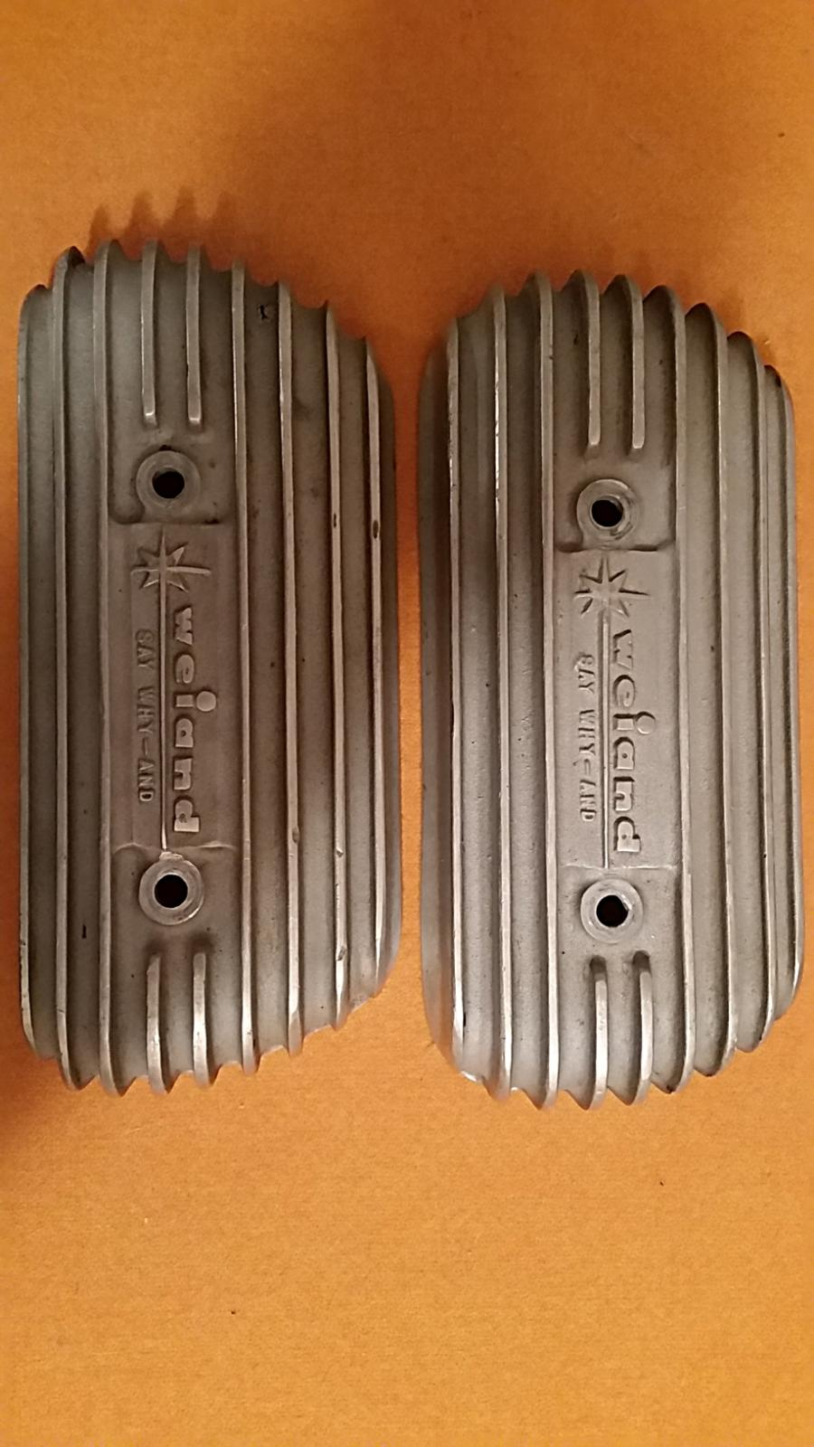 My Weiand valve covers