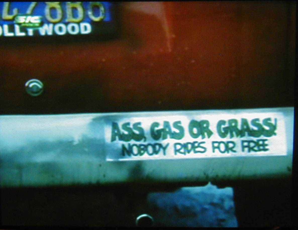 Blink 182 ass gas or grass nobody rides for free