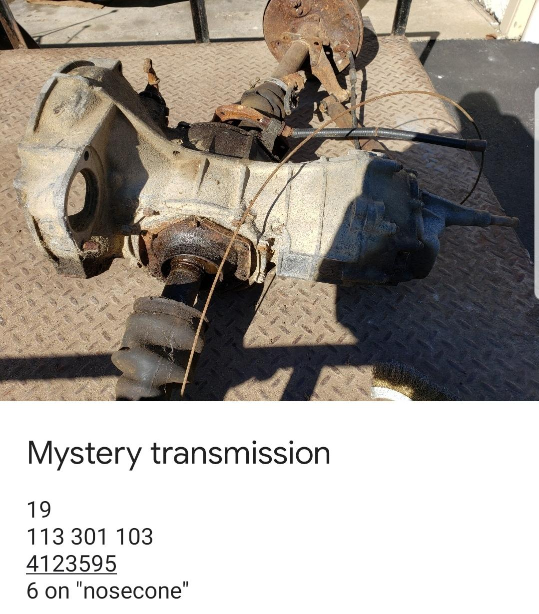 TheSamba com :: Beetle - 1958-1967 - View topic - Transaxle