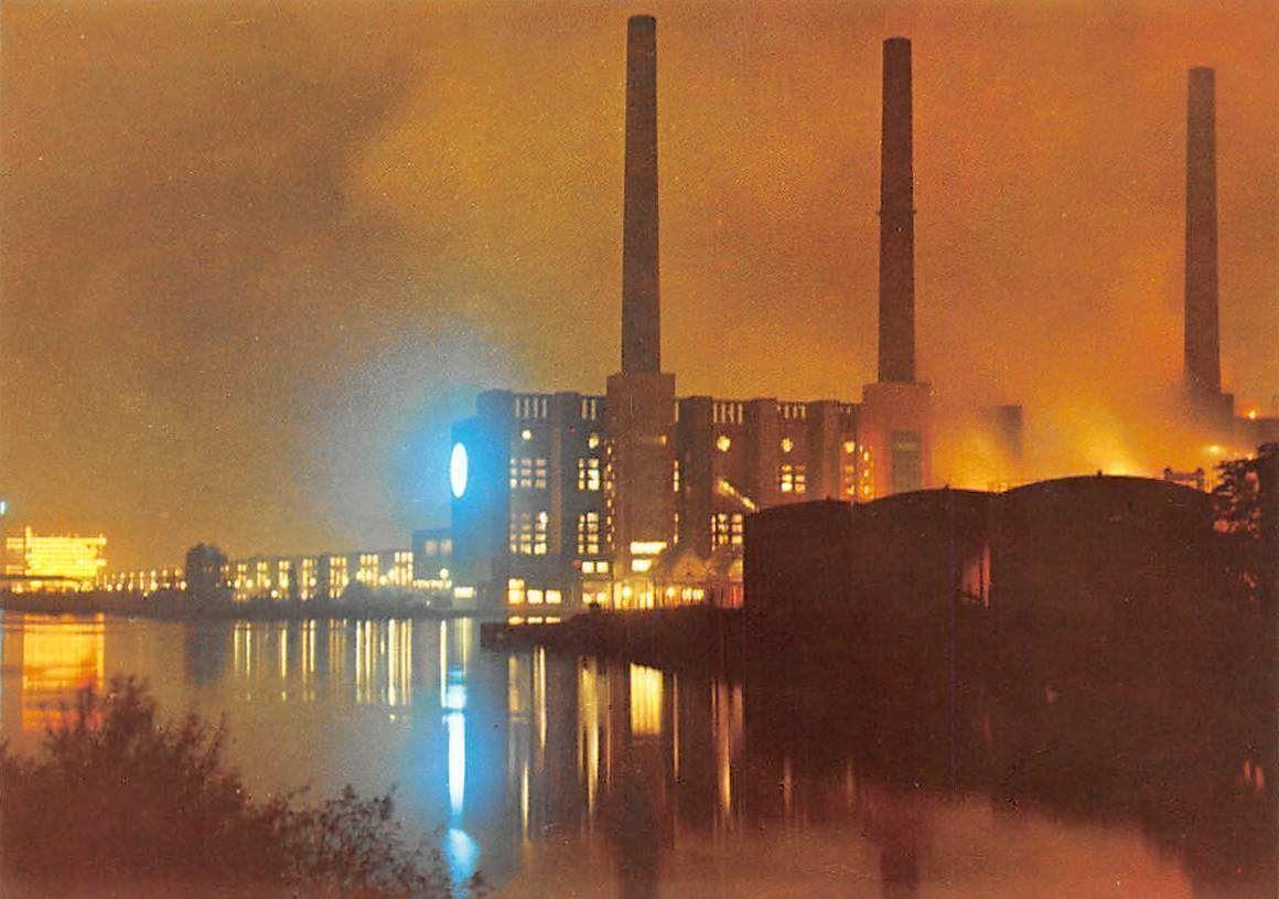 Wolfsburg at night