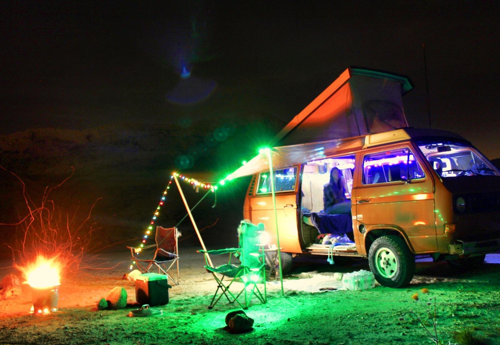 Trippy hippy van
