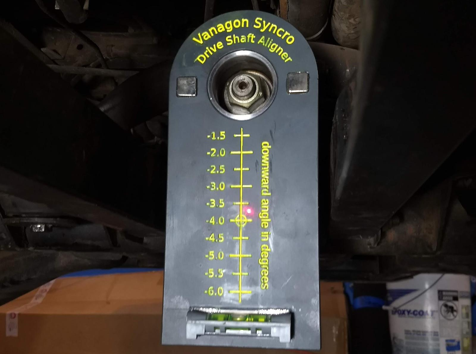 TheSamba com :: Vanagon - View topic - Syncro driveshaft runout?