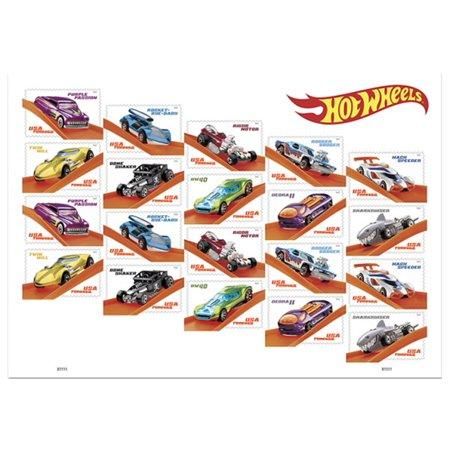 Hot wheels stamps