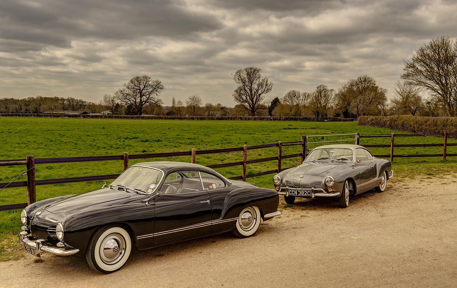 Karmann Ghia Springtime Outing