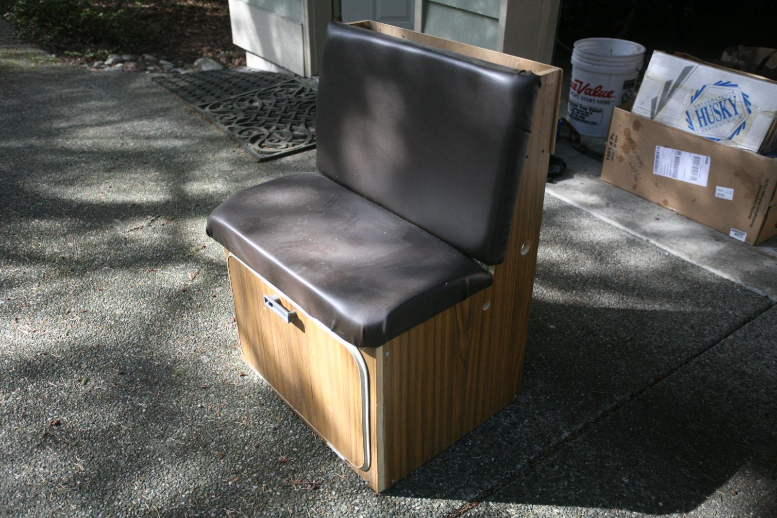 Vanagon/bus jumpseat/storage